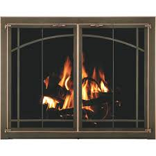 keep fireplace glass doors clean best way to screens how wood