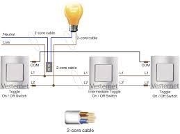 apnt 159 standard 3 way lighting circuit intermediate switch standard 3 way lighting circuit intermediate switch neutral