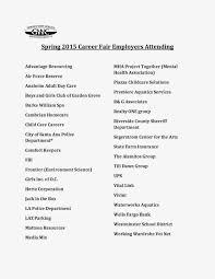Golden West College Library Newsletter Gwc Career Fair