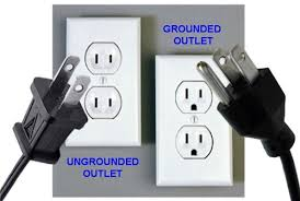 purchasing a home ungrounded outlets