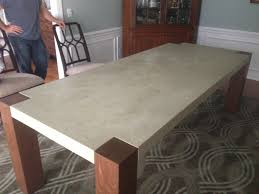 diy concrete table diy concrete top outdoor coffee table fixthisbuildthat
