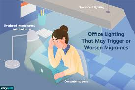 How Fluorescent Lights Work Lighting May Cause Migraines At Work