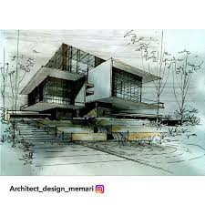 Modren Architecture Design Sketches Consulta Esta Foto De Instagram For Ideas