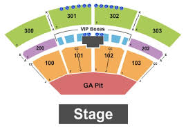 Toyota Music Factory Irving Texas Seating Chart The Pavilion At Toyota Music Factory Tickets In Irving Texas
