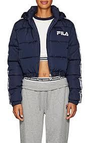 fila puffer jacket women s. fila thedrop@barneys: adelina crop puffer coat - jackets 505427352 fila jacket women s .