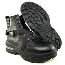 nike air max goadome leather boots womens size 9 work hiking black mens 7 5