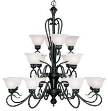 devonshire matte black chandelier alabaster glass 40 wx41 h