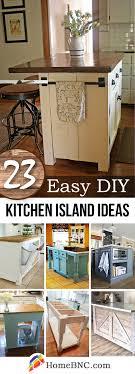 23 Best DIY Kitchen Island Ideas and Designs for 2018