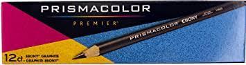 Prismacolor Ebony Graphite Pencils, Black Drawing ... - Amazon.com