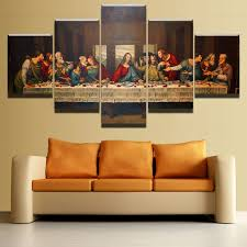Canvas Picture Living Room Wall Art <b>Framework 5 Pieces</b> Last ...