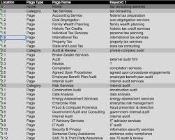 tax preparation checklist excel template to seo your website excel download