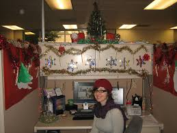 office cubicle christmas decorations. Contemporary Decorations Image Of Cubicle Christmas Decorating Ideas Color For Office Decorations 0