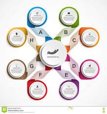 Organizational Chart Designs Infographic Design Organization Chart Template Illustration