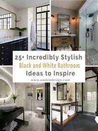 White tile bathroom ideas Grey One Kindesign 25 Incredibly Stylish Black And White Bathroom Ideas To Inspire