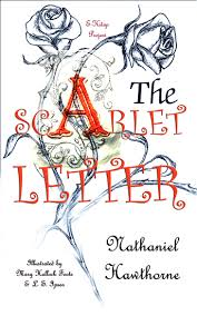Scarlet Letter Book Cover The Scarlet Letter Illustrated Edition Read Book Online