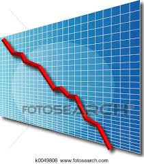 3d Stock Chart Chart Line 3d Stock Illustration K0049808 Fotosearch