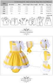 2019 Pettigirl Baby Girls Dress Cotton Children Yellow Costume Kids Summer Clothes Girls With Bonnie Pppants G Dmcs101 B174 From Cnbabywholeseller