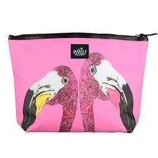 flamingo limited edition makeup bag