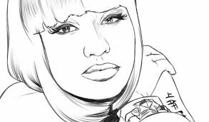 Small Picture Nicki Minaj Coloring Pages Best Photo Gallery Websites Nicki Minaj