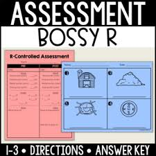 Assessment Awesome RControlledBossy R Assessment By Reading In Room 44 TpT