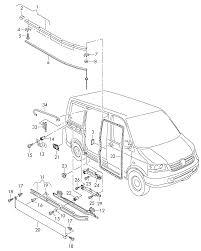 Surprising vw t5 sliding door roller images exterior ideas 3d