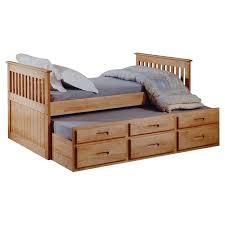 bed frame captain bed frame plans just kids captains single bed frame with trundle and