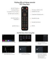 Remote FPT Play Box Điều khiển Fpt Play Box bằng giọng nói cho Fpt Play Box  2018 2019 2020 Remote voice cho TV Box Fpt - Chính Hãng | Android Tivi Box