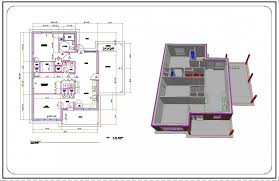 autocad house drawings samples dwg residential building plans