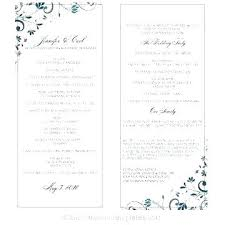 Free Microsoft Word Wedding Program Template Fold Wedding Programs Template Inspirational Half Program