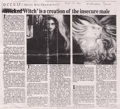 witchcraft in a conversation ipsita roy chakraverti ldquowicca and witchcraft are the key to liberation rdquo her religious beliefs and practice were and still are interwoven a dynamic feminist spirit