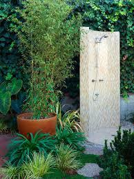 Outdoor Shower Elegant Outdoor Showers Hgtv