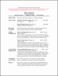 Nurse Resume Objective Statement Examples Best Professional