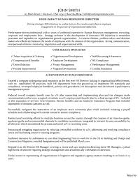 Human Voiced Resume Example Extraordinary Human Resources Job Resume Objective In Hr Format Of 68