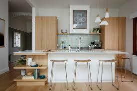 Josh Jenna Modern MidCentury Kitchen Freedom Kitchens Caesarstone - Mid century modern kitchens