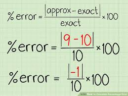 image titled calculate percentage error step 2
