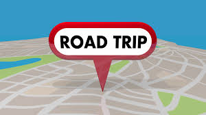 Animated Travel Map Road Trip Travel Planner Roads Map Pin Spot Route 3 D Animation