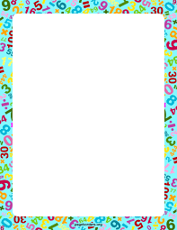 Paper Frames Templates Morven Ga Math Math Border Borders For Paper Borders And