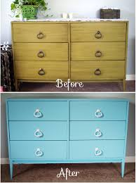 its amazing what a coat of paint can do our dresser painting bedroom furniture before and