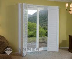 window shutters for sliding glass doors