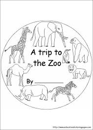 Small Picture Zoo Coloring Pages free For Kids