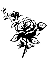 Small Picture 2 Pretty Roses Coloring Page H M Coloring Pages