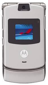 first motorola phone. motorola razor v3 first phone w