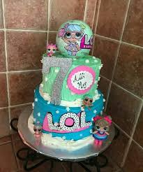 Lol Surprise Dolls Cake Lol Surprise Dolls Birthday Party Lol