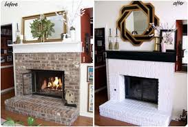 But what if you fireplace looks like this? Then what? Do you still paint it?