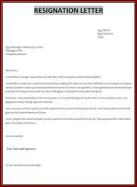 Simple Resignation Letter Template 28 Free Word Excel Pdf Inside ...