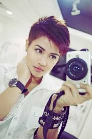 furthermore Best 25  Pixie hairstyles ideas on Pinterest   Pixie haircut together with  together with Gray Pixie Undercut For Mature Women   short hair   Pinterest further Best 20  Shaved pixie cut ideas on Pinterest   Shaved pixie as well  in addition  as well  furthermore  also  in addition 8  Undercuts Pixie Cuts for Badass Women   Hair   Pinterest. on woman s pixie undercuts haircuts