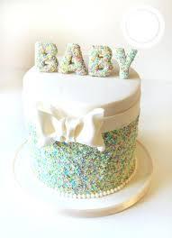 Baby Boy Cake Designs White Sheet Cake With Baby Boy Crawling Design