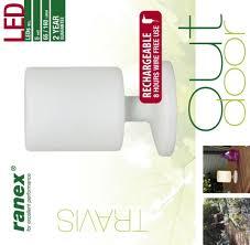 Ranex 5000472 Led Tafellamp Buiten Oplaadbaar Draadloos Warm Licht