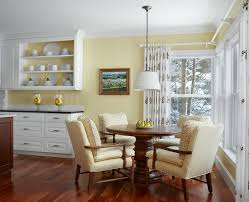 Yellow And White Kitchen Yellow And White Kitchen Rustic With White Walls Black Shade