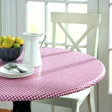 vinyl round tablecloth with elasticized edge vinyl tablecloth with elastic edge wonderful best vinyl table covers